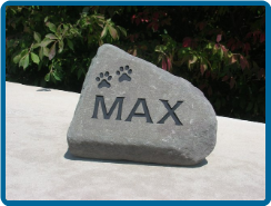 Irregular Small Flagstone Pet Garden Memorial