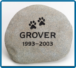 Medium River Rock Pet Urn
