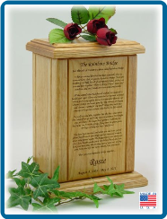 Rainbow Bridge Pet Cremation Urn